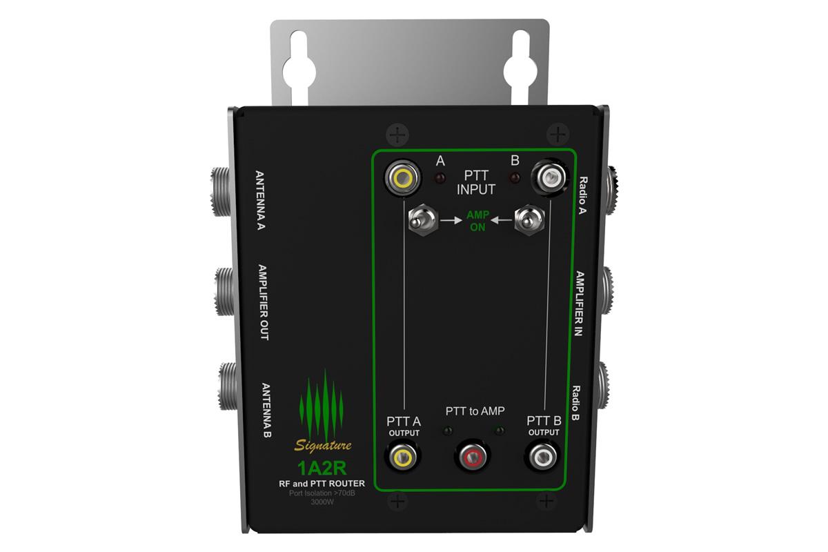 1 Amp 2 Radios Switch